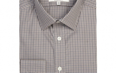 Men's BROWN & BEIGE MULTI CHECK EXTRA SLIM FIT SHIRT   - 2